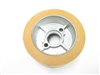 STANDARD Rubber Power Feeder Wheel (Tan) 4-5/8 X 2-1/4