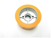 Rubber Power Feeder Wheels (Orange) 4-5/8 X 2-1/4 Soft