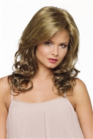 Curly Layered Synthetic Lace Front Wig - Alana by Envy