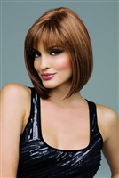 Synthetic Mono-Top Layered Wig With Bangs - Carley by Envy