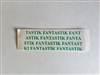 Fantastik Lace Tape - Straight Strips