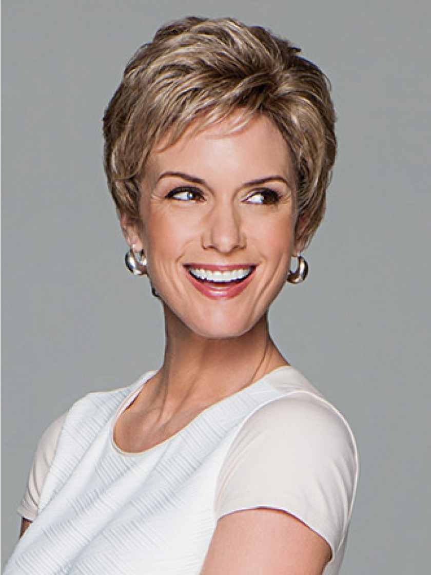 c0be83d9625ee Short Layered Pixie Cut Synthetic Wig - Acclaim by Gabor