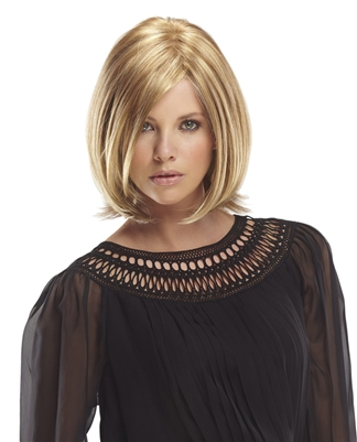 Short Layered Mono-Top Bob Wig by Jon Renau