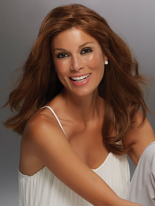 Remy Human Hair Long Lace Front Wig - Angie Renau Exclusive by Jon ... f31d6455c5f6