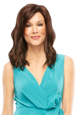 Shoulder Length Synthetic Mono Top Wig: Heidi by Jon Renau