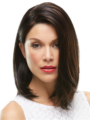 Shoulder Length Mono Top Synthetic Wig: Karlie by Jon Renau