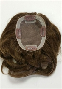 Human Hair Hairpiece (Light Color Options) - Look Of Love