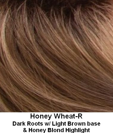 Honey Wheat Colored Blonde Hair