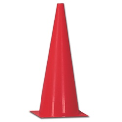 "Champro Plastic Marker Cones - 9"", 12"", 15"", and 18"" Sizes"