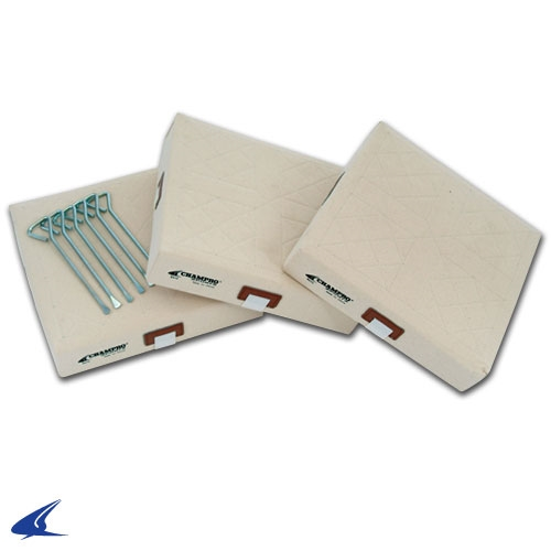 "Champro 15"" x 3"" Canvas Cover Base Set"