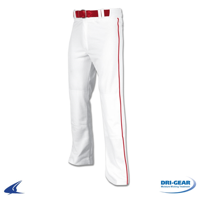 Champro Youth Open Bottom Baseball Pants with Piping - BP61UY