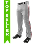 Champro Youth Open Bottom Basebal Pants with Piping