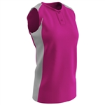 Champro Diamond Active 2 Button Sleeveless Fastpitch Women's Jersey