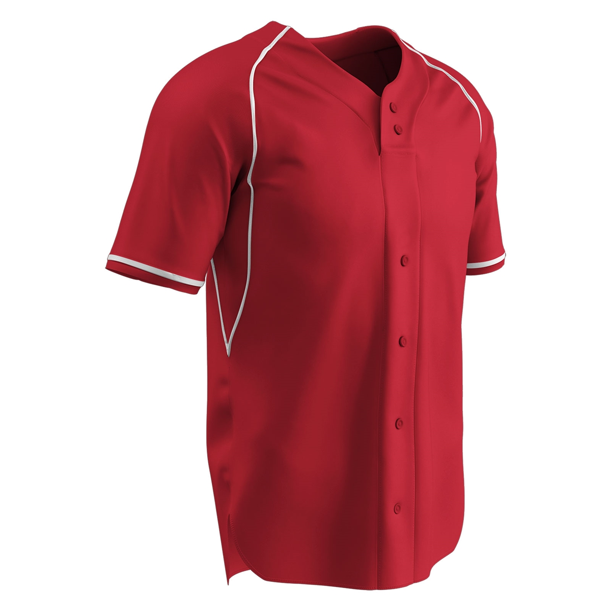 19d997fb93d Champro Cycle 2 Button Faux Baseball Jersey Larger Photo Email A Friend