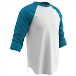 Champro Cotton 3/4 Sleeve Youth Baseball Jersey
