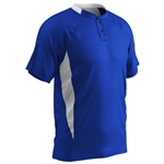 Champro Youth Mid Weight 2 Button Baseball Jersey