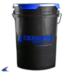 Champro Plastic Ball Bucket With Foam Lid Cover