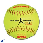 Champro NFHS-12 inch Fast Pitch - Leather Cover .47COR