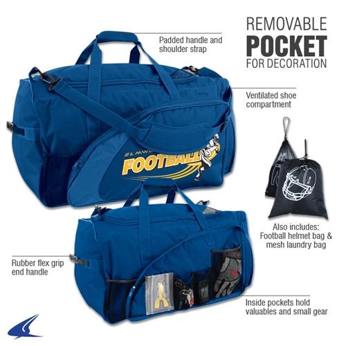 6c5b69b41e1 Varsity Football Equipment Bag