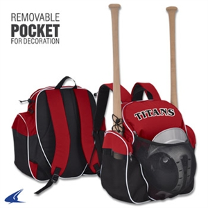 "Champro Player's Backpack - 9"" x 18"" x 18"""