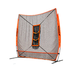 Champro MVP 7' X 7' Portable Training Net With TZ3 Training Zone