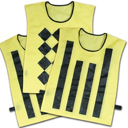 Champro Sideline Official Pinnies Set of 3
