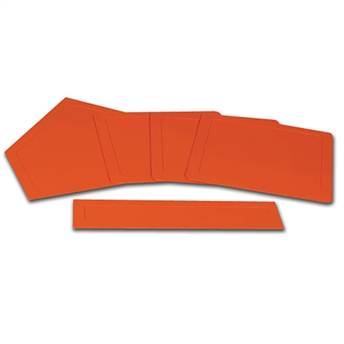 Champro 5 Piece Rubber Throw Down Base Set