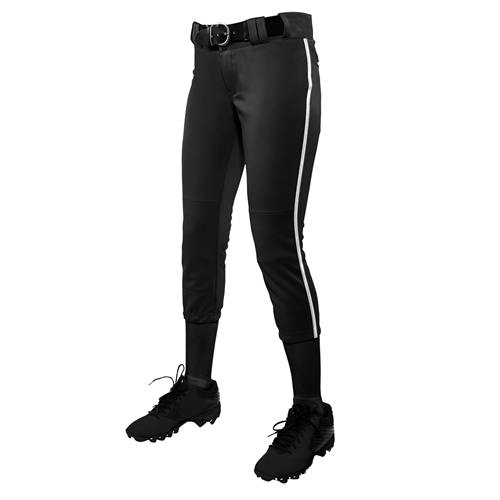 Champro Women's Low Rise Tournament Fastpitch Pant With Pipe