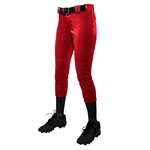 Champro Girl's Low Rise Tournament Fastpitch Pants