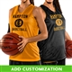 Customizable Champro Reversible Women's Mesh Basketball Jersey
