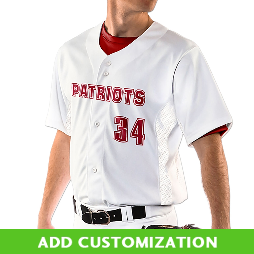 a40fe6a6c7b Customizable Champro Reliever Full Button Baseball Jersey 6 piece minimum.  Larger Photo ...