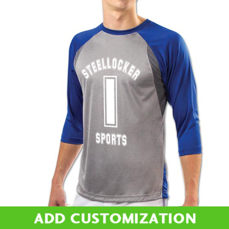 Customizable Champro Extra Innings 34 Sleeve Baseball Jersey Bs25