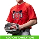Customizable Champro Turn Two Baseball Jersey