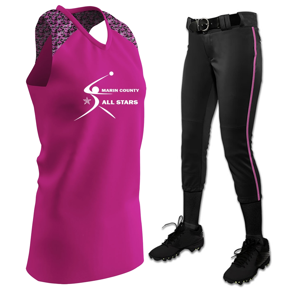 54c16802a Champro Performance Series 1 Fastpitch Uniform Package