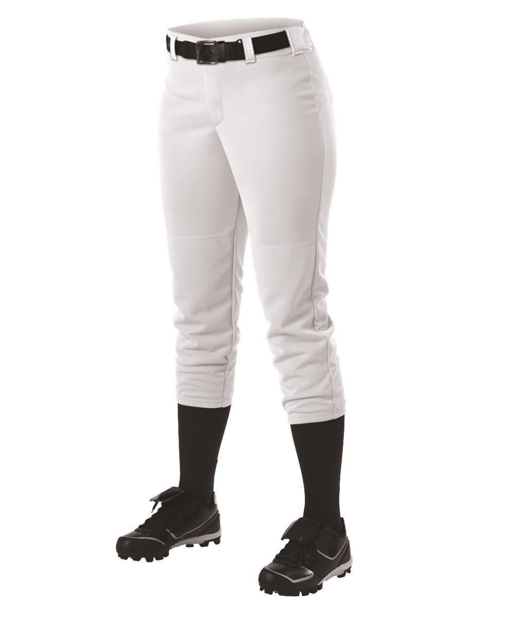 0c56e2ed03f Alleson Women s Fastpitch Pants w  Belt Loops