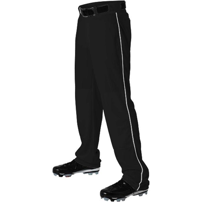 Alleson Ahtletic Mens Elastic Bottom Baseball Pants