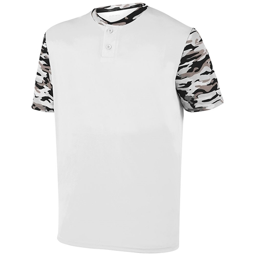 CHAMPRO Reliever Full Button Baseball Jersey Adult 3X-Large Natural
