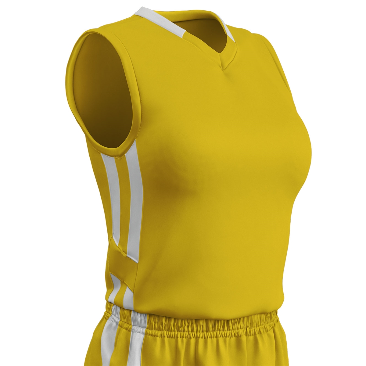 5e198011c16203 Champro Ladies Muscle Dri Gear Basketball Jersey