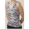 Pizzazz Performance Wear | Animal Print Racer Back Top | 1041-PIZ-9800AP