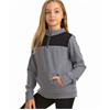 Soffe | Girls Colorblock Mock Neck Pullover | 10516-SOF-7426G