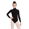 Capezio | Long Sleeve Turtleneck Leotard w/ Snaps - Girls | 10647-CAP-TB123C