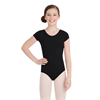 Capezio | Short Sleeve Leotard - Girls | 10650-CAP-TB132C