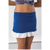 Pizzazz Performance Wear | Youth Ruffled Skirt w/ Boys Cut Brief | 1077-PIZ-7100