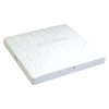 "CHAMPRO Sports | 15"" X 15"" X 3"" The Hall Base White Set Of 3 