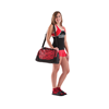 Pizzazz Performance Wear | Small Zebra Print Duffle Bag | 1092-PIZ-B400AP