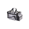 Pizzazz Performance Wear | Zebra Print Megaphone Duffle Bag | 1093-PIZ-B500AP