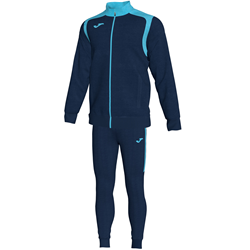 Joma | CHAMPION V TRACKSUIT NAVY-FLUORESCENT TURQUOISE | 10954-JOM-101267.342
