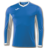 Joma | L/S T-SHIRT CHAMPION IV ROYAL BLUE-WHITE | 11120-JOM-100779.702