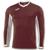 Joma | L/S T-SHIRT CHAMPION IV DARK RED | 11121-JOM-100779.652
