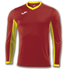 Joma | L/S T-SHIRT CHAMPION IV RED-YELLOW | 11122-JOM-100779.609